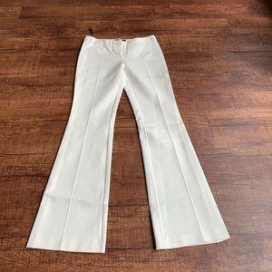 Derek Lam Alana Flare Legging size 6 cream trouser
